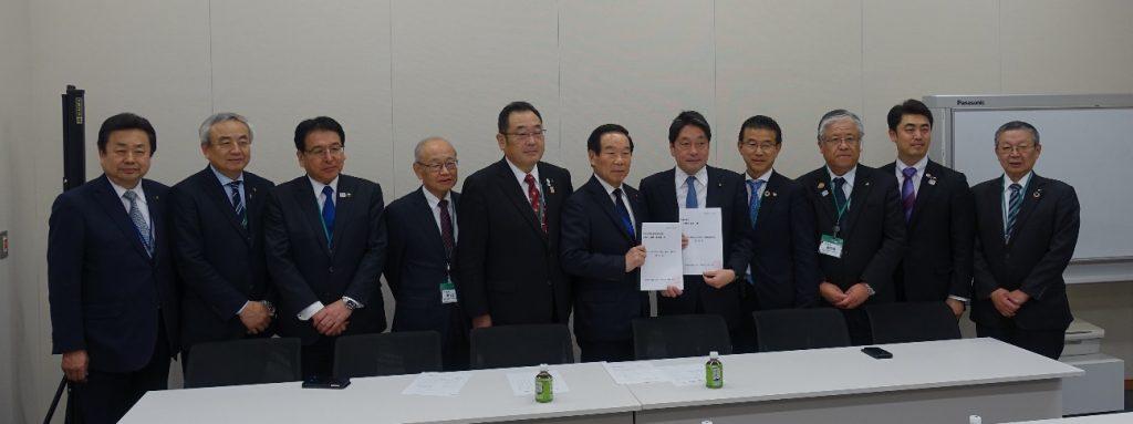 R2. 1.22 自由民主党東日本大震災復興加速化本部に対する要望