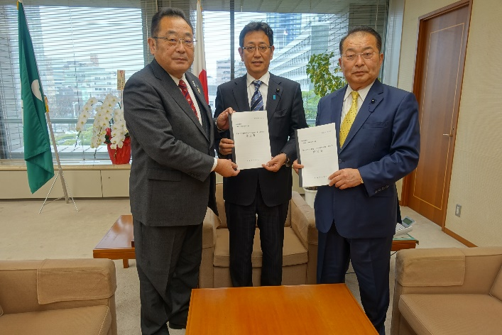 R1.12. 2 宮城県議会議長に対する要望